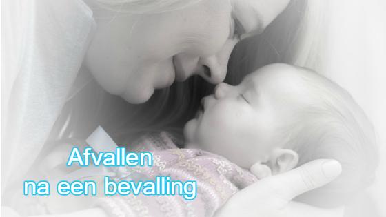 Veel vrouwen vinden afvallen na bevalling zwaar.