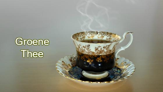 Waarom groene thee gezond is.