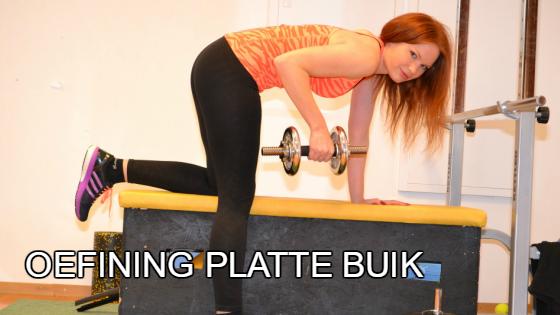 oefeningen : platte buik door gerichte oefeningen