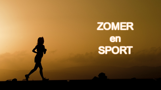 zomer en sport