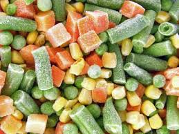 verwerkte groenten