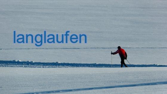 langlaufen winterport