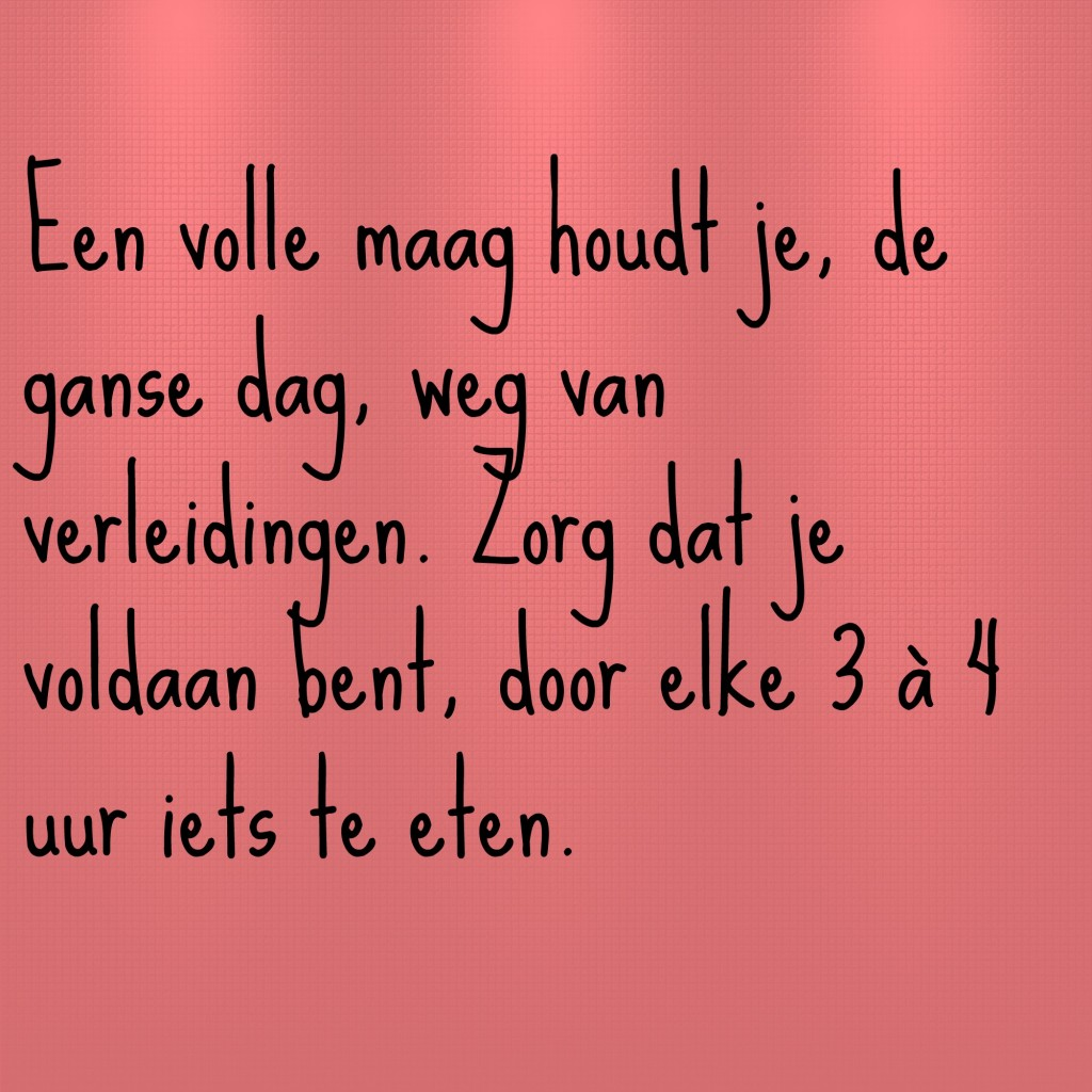 volle maag