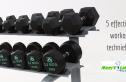 effectieve workout technieken