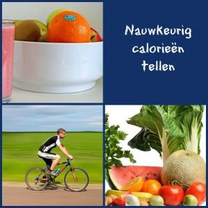 nauwkeurig calorieën tellen