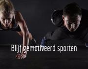 blijf gemotiveerd sporten