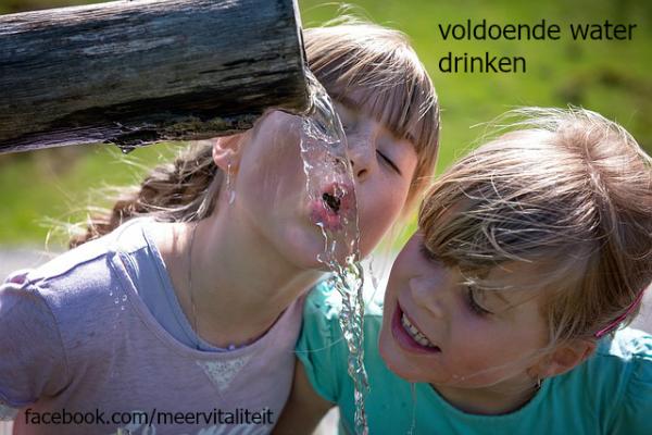 voldoende drinken