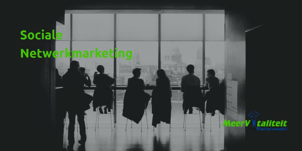 sociale netwerkmarketing